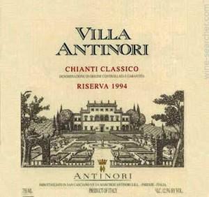 Chiati Classico Antinori 1994
