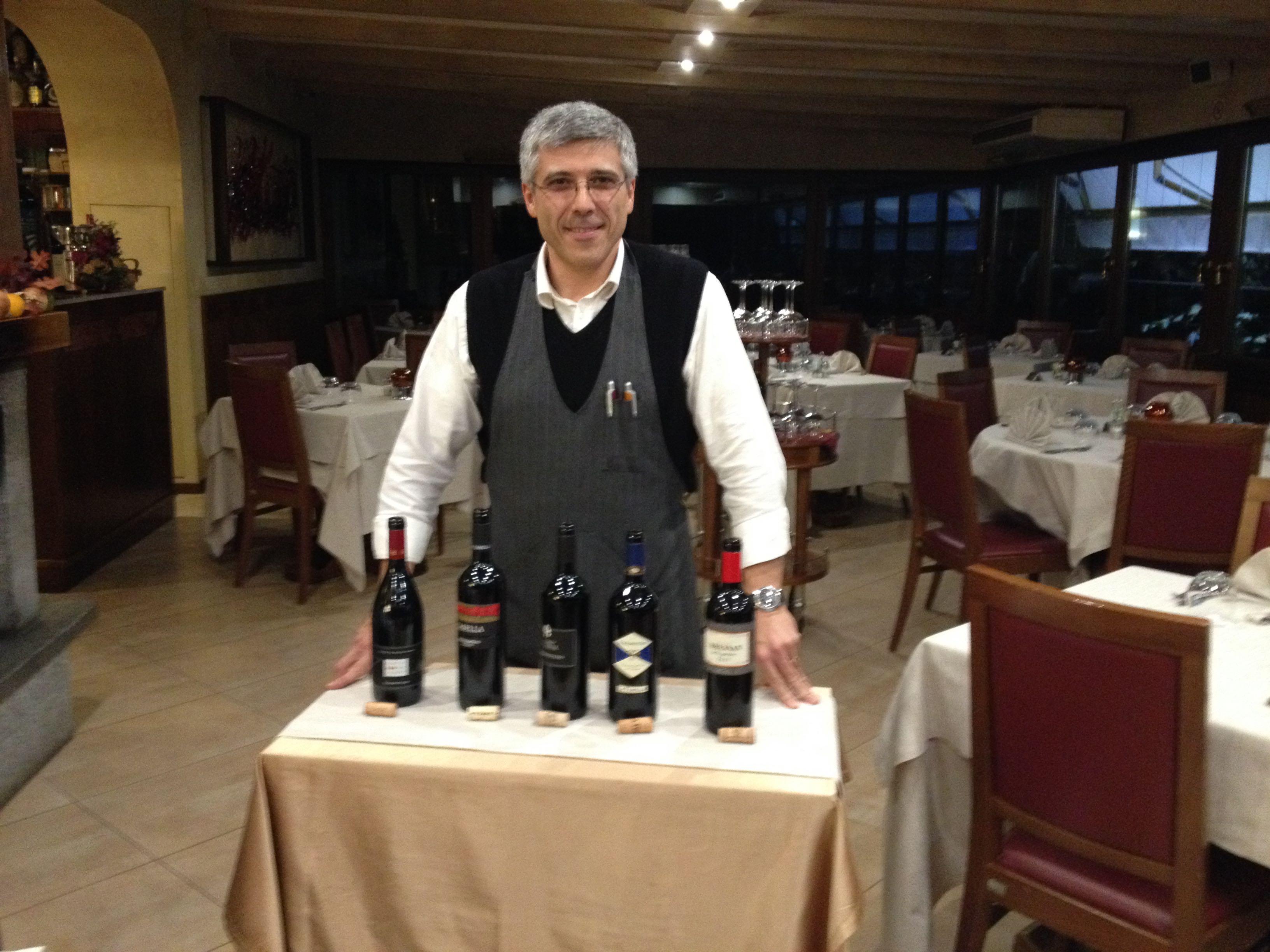 """Sandro Vergani e la """"parata"""" di Schioppettino"""